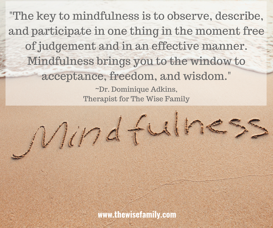 Free Talk On Mindfulness Practice For >> Start A Mindfulness Practice This Summer The Wise Family