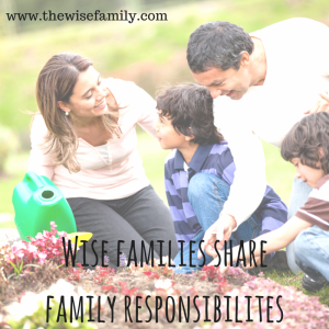 Wise families share family